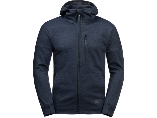 Jack Wolfskin Riverland Hooded Jacket Herren night blue